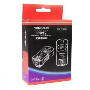 Радиосинхронизатор YONGNUO RF-605N для Canon
