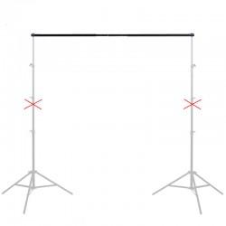 Перекладина телескопическая для крепления фона (1,9м)