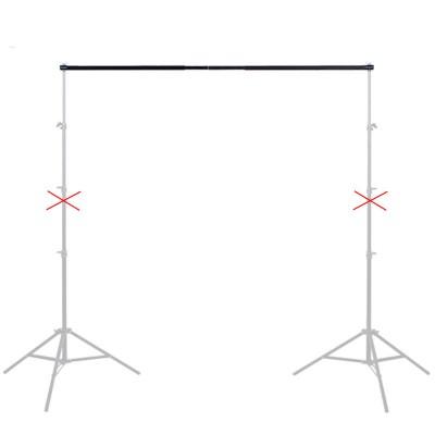 Перекладина телескопическая для крепления фона (3 м)