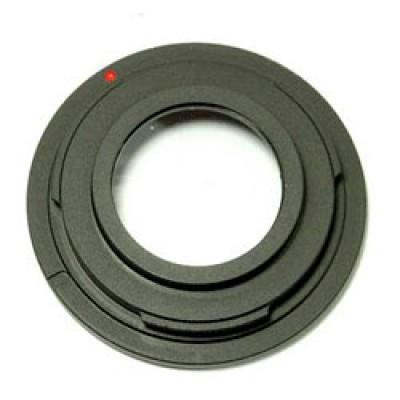 Адаптер Nikon - m42 с линзой