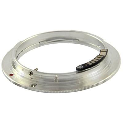 Адаптер Canon - Olympus OM 4/3 c чипом EMF