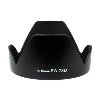 Пластиковая бленда для Canon EW-78D