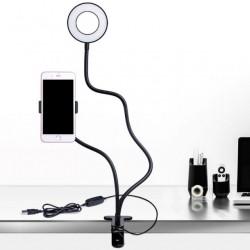 Гибкий держатель для смартфона с подсветкой