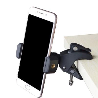 Крепление-струбцина для смартфона