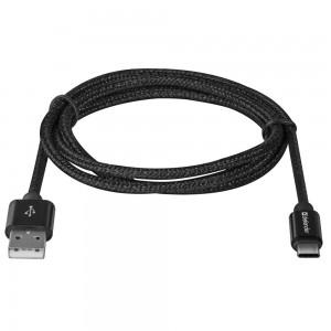 USB кабель Defender USB09-03T PRO USB2.0 Черный, AM-Type-C, 1m, 2.1A