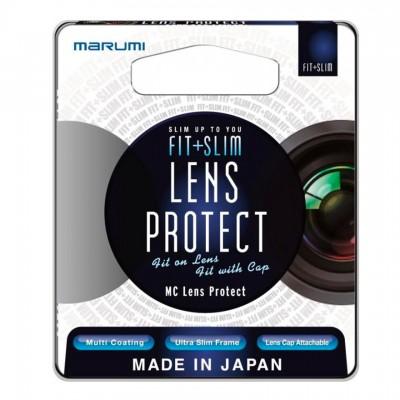 Защитный светофильтр Marumi FIT+SLIM MC Lens Protect 55mm