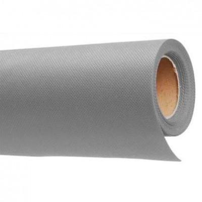 Фон нетканый (светло-серый) 1.6×5м (На картонной трубке)
