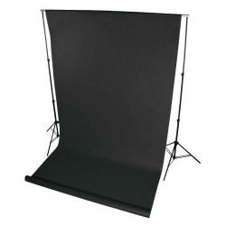 Фон нетканый (черный) 1.6×2,5м (На картонной трубке)