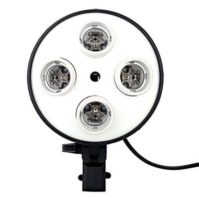 Блок для 4-х ламп E27