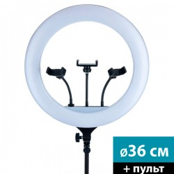 Кольцевой осветитель 36 см (RL-14 с пультом)