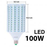 Лампа светодиодная  LT-E27 LED SMD 100W 5500K