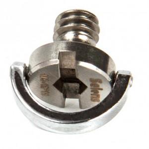 Винт 1/4 дюйма с D-образным кольцом (7 мм)