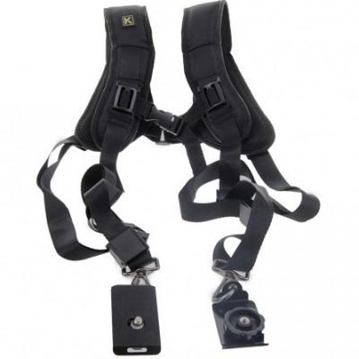 Ремень-разгрузка для двух фотоаппаратов
