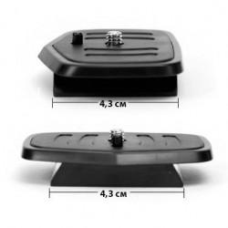 Съёмная площадка для штатива 43x43 mm