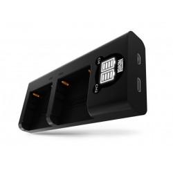 Зарядное устройство Newell DL SDC-USB для 2-х аккумуляторов NP-F550/770/970 (Sony)
