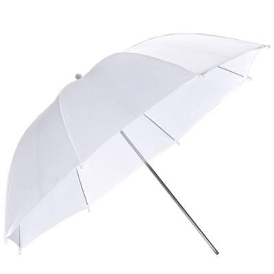 Зонт студийный белый на просвет (84 см) - Fujimi FJU561-33